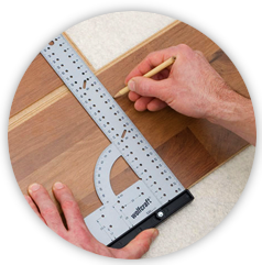 1. First sanding cut: